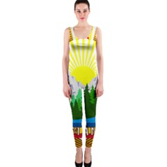 National Emblem Of Romania, 1965 1989  Onepiece Catsuit
