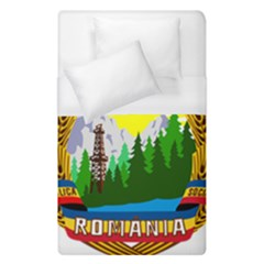 National Emblem Of Romania, 1965 1989  Duvet Cover (single Size)