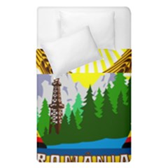 National Emblem Of Romania, 1965 1989  Duvet Cover Double Side (single Size)
