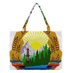 National Emblem Of Romania, 1965 1989  Medium Tote Bag