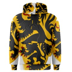 Flanders Coat Of Arms  Men s Pullover Hoodie