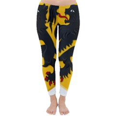 Flanders Coat Of Arms  Winter Leggings