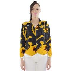 Flanders Coat Of Arms  Wind Breaker (women)