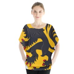 Flanders Coat Of Arms  Blouse