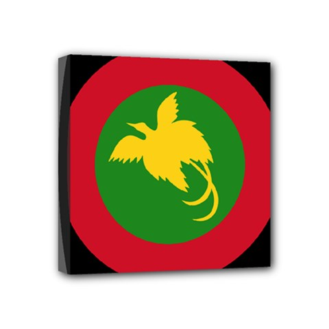Roundel Of Papua New Guinea Air Operations Element Mini Canvas 4  X 4