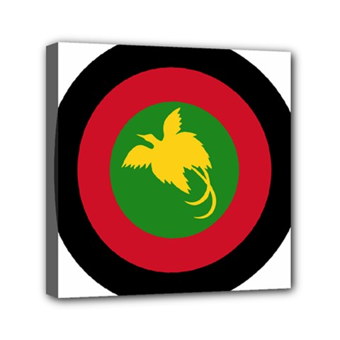 Roundel Of Papua New Guinea Air Operations Element Mini Canvas 6  X 6