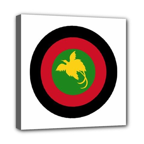 Roundel Of Papua New Guinea Air Operations Element Mini Canvas 8  X 8