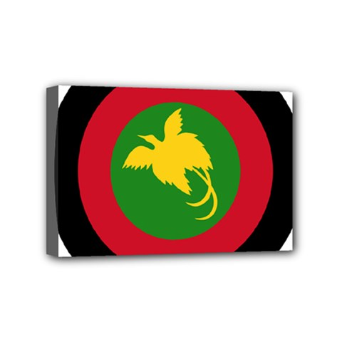 Roundel Of Papua New Guinea Air Operations Element Mini Canvas 6  X 4