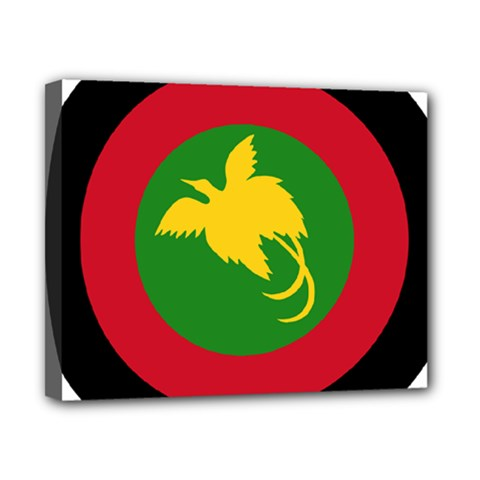 Roundel Of Papua New Guinea Air Operations Element Canvas 10  X 8