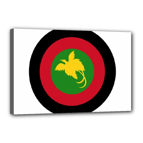 Roundel Of Papua New Guinea Air Operations Element Canvas 18  X 12