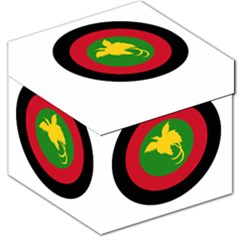 Roundel Of Papua New Guinea Air Operations Element Storage Stool 12