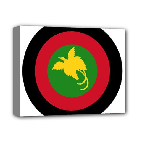 Roundel Of Papua New Guinea Air Operations Element Deluxe Canvas 14  X 11