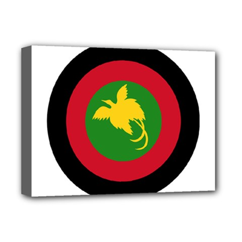 Roundel Of Papua New Guinea Air Operations Element Deluxe Canvas 16  X 12