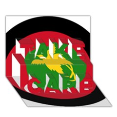 Roundel Of Papua New Guinea Air Operations Element Take Care 3d Greeting Card (7x5)