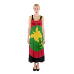 Roundel Of Papua New Guinea Air Operations Element Sleeveless Maxi Dress