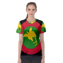 Roundel Of Papua New Guinea Air Operations Element Women s Sport Mesh Tee