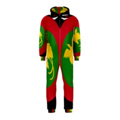 Roundel Of Papua New Guinea Air Operations Element Hooded Jumpsuit (kids)