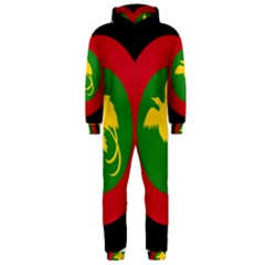 Roundel Of Papua New Guinea Air Operations Element Hooded Jumpsuit (men)