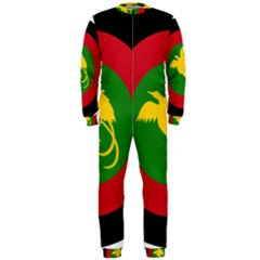 Roundel Of Papua New Guinea Air Operations Element Onepiece Jumpsuit (men)