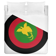 Roundel Of Papua New Guinea Air Operations Element Duvet Cover (queen Size)