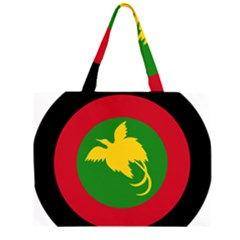 Roundel of Papua New Guinea Air Operations Element Large Tote Bag