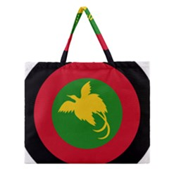 Roundel Of Papua New Guinea Air Operations Element Zipper Large Tote Bag