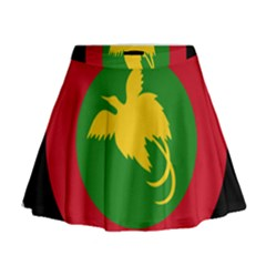 Roundel Of Papua New Guinea Air Operations Element Mini Flare Skirt