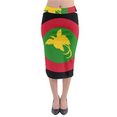 Roundel Of Papua New Guinea Air Operations Element Midi Pencil Skirt