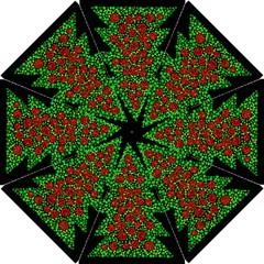Sparkling Christmas tree Hook Handle Umbrellas (Small)
