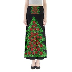 Sparkling Christmas tree Maxi Skirts
