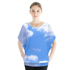 Summer Clouds And Blue Sky Blouse