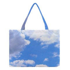 Summer Clouds And Blue Sky Medium Tote Bag