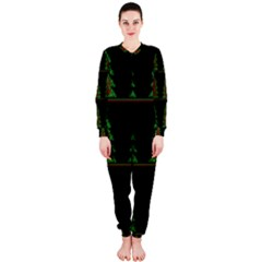 Christmas trees pattern OnePiece Jumpsuit (Ladies)