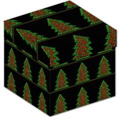 Christmas trees pattern Storage Stool 12