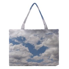 Breezy Clouds In The Sky Medium Tote Bag