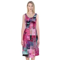My Beautiful Mess Midi Sleeveless Dress
