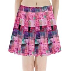 My Beautiful Mess Pleated Mini Skirt