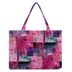 My Beautiful Mess Medium Zipper Tote Bag