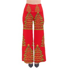 Christmas Trees Red Pattern Pants