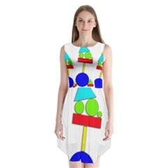 Balance  Sleeveless Chiffon Dress