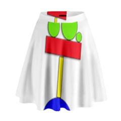 Balance  High Waist Skirt