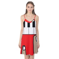 Piano  Camis Nightgown