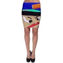 Accident  Bodycon Skirt
