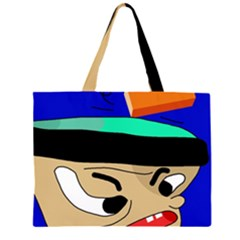 Accident  Large Tote Bag