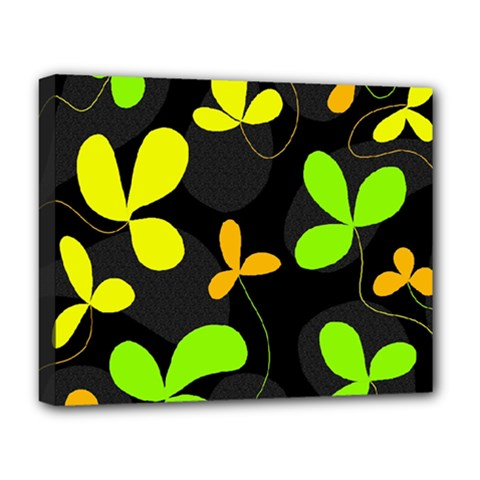 Floral design Deluxe Canvas 20  x 16