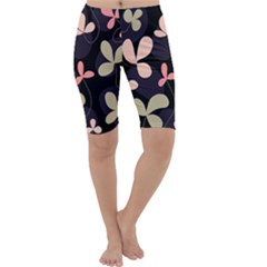 Elegant floral design Cropped Leggings