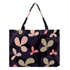 Elegant floral design Medium Tote Bag