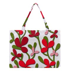 Floral Tree Medium Tote Bag