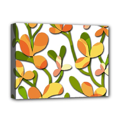 Decorative floral tree Deluxe Canvas 16  x 12