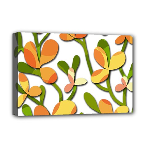 Decorative floral tree Deluxe Canvas 18  x 12